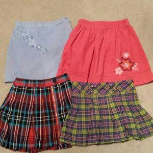 Cherokee Other - Girl's Skirts Bundle, set of 4.