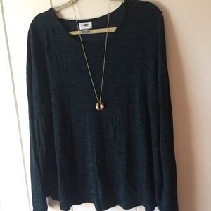 | Old Navy | Green Open Back Sweater