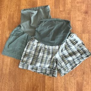 Oh Baby by Motherhood Pants - Set of Maternity Shorts