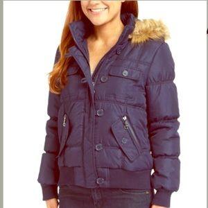 Urban Republic Jackets & Blazers - HOST PICK Urban Republic Navy hooded puffer jacket