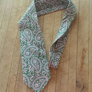 J. Crew Other - J. Crew Pink and Green Paisley Tie