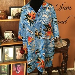 0a8e9d76 Waikiki Creations Shirts | Ragstock Hawaiin Button Down Shirt Nwt ...