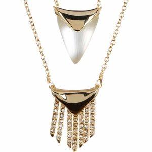Alexis Bittar Fringe Necklace