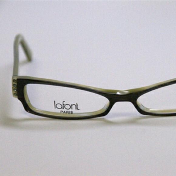 Lafont Accessories   Jean Paris Olive Green Eyeglasses Frame   Poshmark