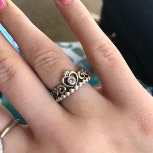 aeab5faf079c49 Pandora Jewelry   My Princess Ring   Poshmark