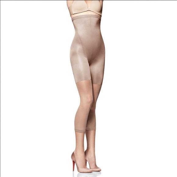 5560007905d68b SPANX Intimates & Sleepwear   Higher Power Capri Nude Size B Nwot ...