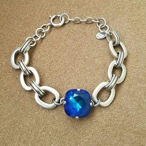 Catherine Popesco Jewelry - 2xl stone bracelet in Ultra sky