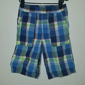 Boys plaid shorts from Children's Place