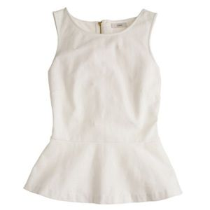 Brand New J. Crew peplum top. Sold Out Online!