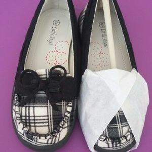 Little Angel Other - Plaid Loafers