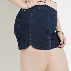 Forever 21 Pants - Denim Flat Front Short