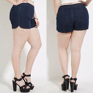 Forever 21 Shorts - Denim Flat Front Short
