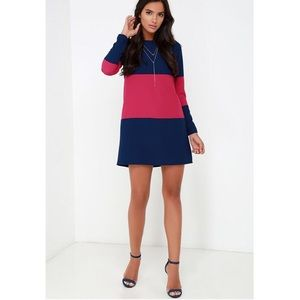 Jack by BB Dakota Dresses & Skirts - Jack by BB Dakota Stripe Colorblock Shift Dress