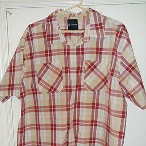 NWT Akademiks Mens 3X Button Down Shirt