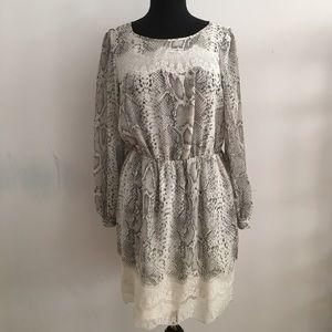 River Island Print Dress