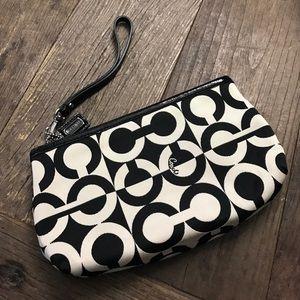 Coach Bags - Coach wristlet clutch zip bag