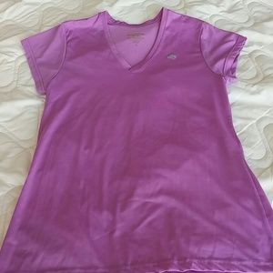 Marika Tops - Lavender work out tee