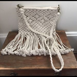 Handbags - Boutique brand macrame crossbody