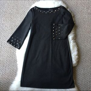 Dresses - Gorgeous Gray Studded Dress - Size 6