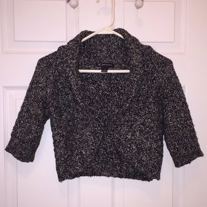 INC International Concepts Sweaters - INC Black and White Sweater