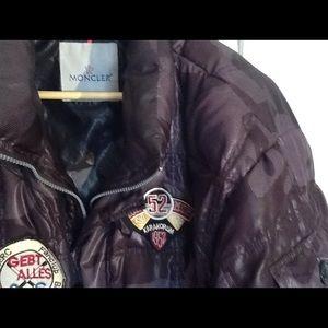 Moncler Other - ❄️❄️ Men's Moncler brown bomber jacket.