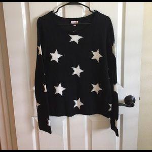 PJ Salvage Sweaters - P.J. Salvage star sweater sz M