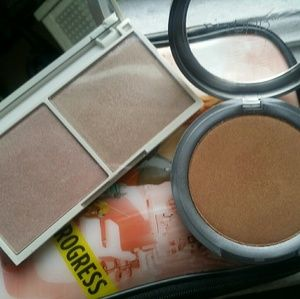 Pur Minerals Other - Highlighter duo &  Pur mineral glow bronzer
