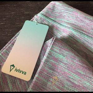Ivivva Pants - NWT Ivivva Rhythmic Pants diamond jacquard