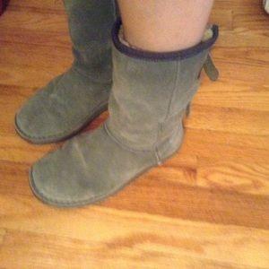 Emu Shoes - Emu Darlington Boots Grey Size 8