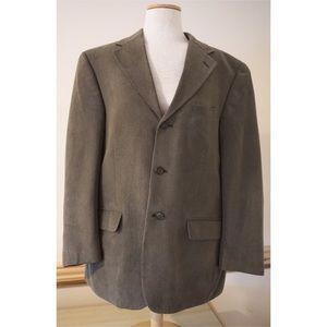 Vintage Suede Bernhard Altmann Men's Sports Coat