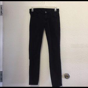 Siwy Denim - Siwy black skinny jeans low rise size 25