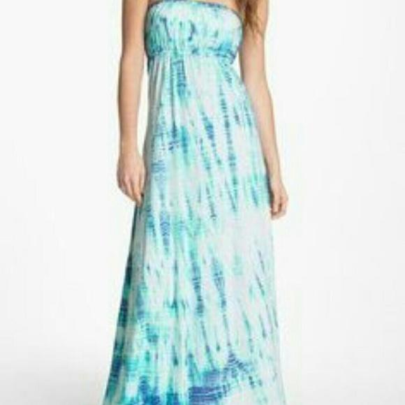 Hard Tail Dresses & Skirts - Hard tail tie dye maxi dress size XS