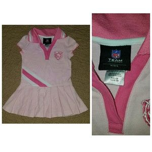 NFL Other - Chicago Bears pink dress - 12 months NWOT