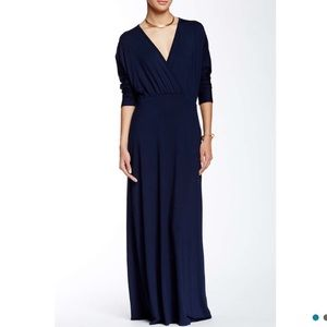 Go Couture Dresses & Skirts - ‼️SALE‼️Go Couture Long Sleeve Navy Maxi Dress