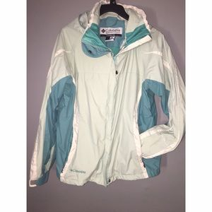 Columbia Ladies Jacket Sz Large Interchangeable