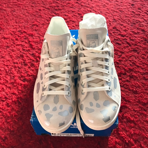 Adidas zapatos Rare Stan Smith metalico poshmark