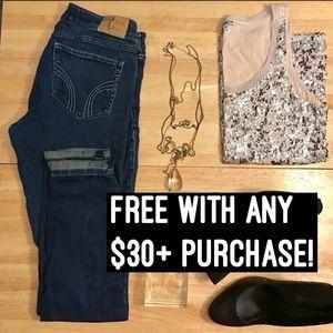 Hollister Denim - ✨Free w/ $30+✨Hollister Skinny Blue Jeans