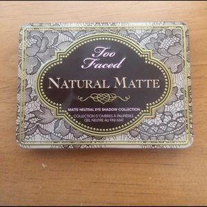 Too Faced Other - Too Faced Natural Matte Palette