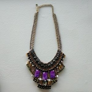 Nocturne gem necklace