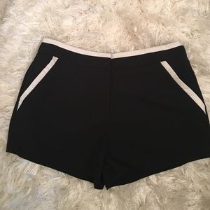 issi Pants - Black and white shorts ISSI brand