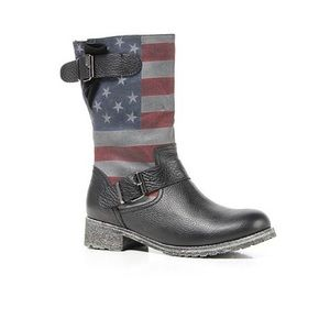Modern Vice Shoes - Modern Vice Patriot american flag boots🇺🇸
