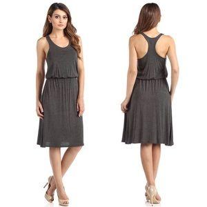 fairlygirly Dresses & Skirts - Racerback Elastic Waist Jersey Soft Midi Dress