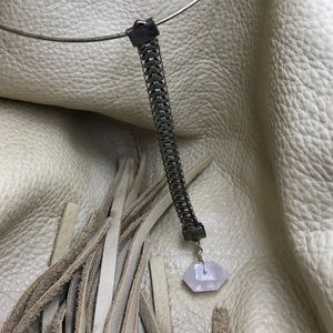 Jewelry - Stone Drop Collar Necklace
