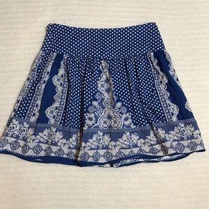 Kimchi Blue Dresses & Skirts - Kimchi Blue Polka Dot Flower Print Skirt
