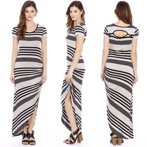 Christian Siriano Dresses & Skirts - ✨ Christian Siriano Striped Open Back Maxi Dress
