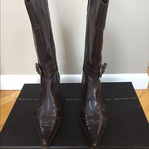 Steve Madden Brown Western Boot