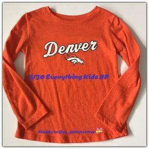 NFL long sleeve Bronco t-shirt