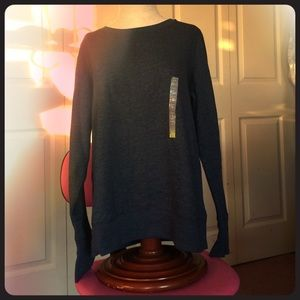 Tek Gear navy blue sweat shirt