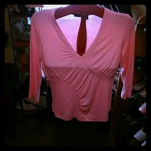 Que Tops - Que top fitted light pink