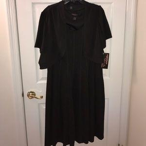 Robbie Bee Dresses & Skirts - Two piece black knee-length dress